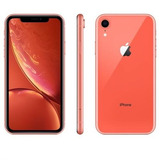 Apple iPhone Xr 64gb Coral Anatel Novo Lacrado Garantia