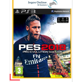Pes 2018 Português Ps3 Mídia Digital Psn Jogo Cód