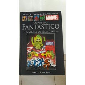 Quarteto Fantástico A Vinda De Galactus Jack Kirby Salvat