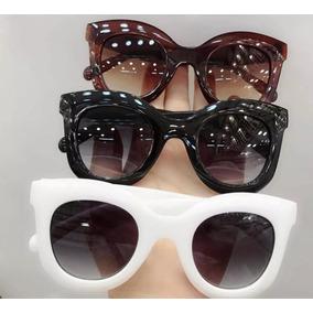 c89fbbd64c3b Oculos Celine Kim Branco De Sol Outras Marcas - Óculos no Mercado ...