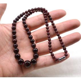 Collar Gargantilla De Granate Suerte Talisman Amuleto Sanar
