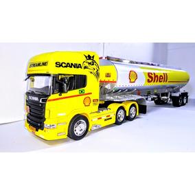 Camiões Scania R730 Tanquiro Shell 1/32