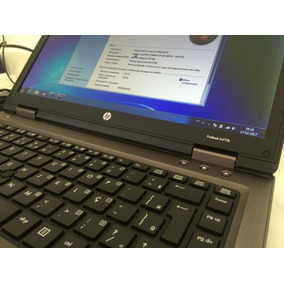 Notebook Hp Probook 6470b Core I7-3520m 8gb Ssd 240gb