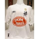 Camisa Umbro Santos Renato 2002 Usada Em Jogo