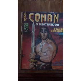 Hq Conan O Destruidor - Marvel
