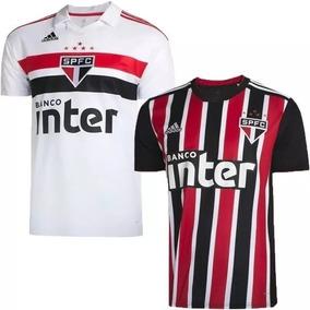 Camisa São Paulo Oficial 2 Unidades Em Até 12x Frete Grátis bbb925da2843b