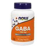 Gaba 750mg Now Foods 100 Caps
