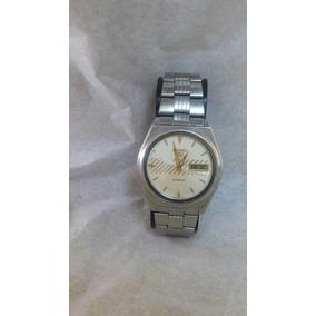 Reloj Seiko 5 Automático Vintage 7009 876a Contra El Agua