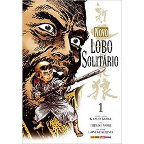 5 Mangás: Novo Lobo Solitario - Kazuo Koike