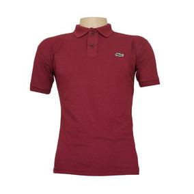 Camisa Lacostes Tres Cores - Calçados, Roupas e Bolsas Bordô no ... ea46dedee4