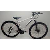 Bicicleta Canadian Aro 29 Branca 24 Vel. C/ Cambio Shimano