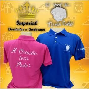 Kit 6 Camisas Pólo Fabricação Própria + Bordado Peito 33705247fe86a