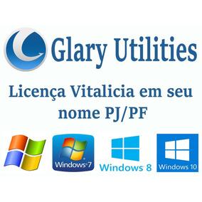 Glary Utilities Pro - Nova Versão + Serial No Seu Nome Pf/pj
