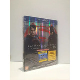 Blu-ray 3d + Blu-ray Batman Vs. Superman (3 Discos)