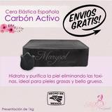 Cera Elástica Española Depilación Sin Bandas Carbón Activado