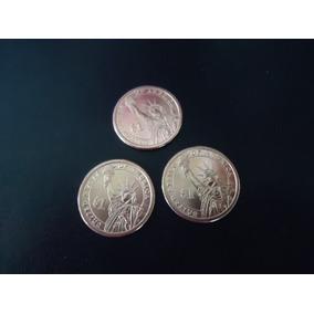 Nova Moeda 1 Dollar Dourada Jefferson - Nunca Circulada -