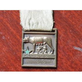 Italia 1935 Medalha Congresso Esperanto Roma