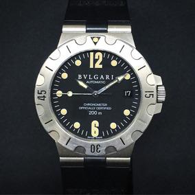 6d77b8ed20e Relógio Bvlgari Réplica Sd38s L2161 Usado. Usado - São Paulo · Bulgari  Diagono Scuba - 38mm
