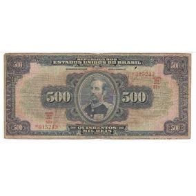 R 163c 1936 Quinhentos Mil Réis Mbc - Preço Acessível