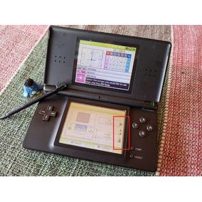 Nintendo Ds Lite Console Preto Original Leia O Anuncio