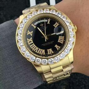 af0f444f6ea Luxo Relogios Cravejados Em Strass - Relógios De Pulso no Mercado ...