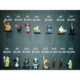 Muñecos Juguetes Lego Minifiguras Originales, Completas