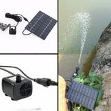 Bomba De Agua Solar Kit Completo Estanque, Fuentes,