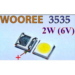 100 Led 3535 6v 2w 150lm Wooree Backlight Tv Lg E Philips