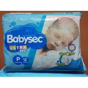 Pañales Babysec Ultra (p12u, M10u, G9u, Xg8u Y Xxg8u)