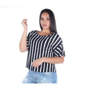 1383db212c6 Blusa Colcci Feminina Estampada Com Detalhe Em Listras