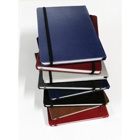 2 Caderneta Tipo Moleskini Grande Sem Pauta 14x21 Sketchbook