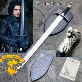 Espada Garralonga Jon Snow Game Of Thrones Valyrian Steel
