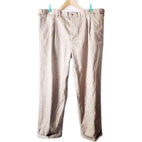 Pantalon Pinzas George Casual Vestir Talla 40 Usado $239a