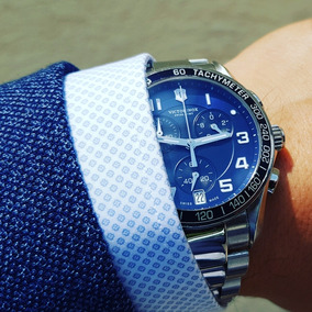 Reloj Victorinox Carátula Azul