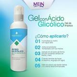 Gel Limpieza Facial Ácido Glicólico,botella 250ml + Envío