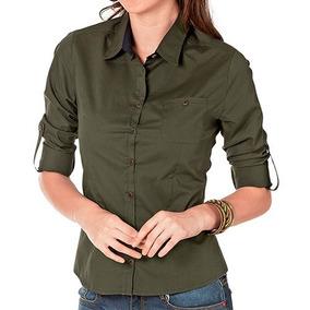 Blusa Dmi Army Color Verde Dama Oi