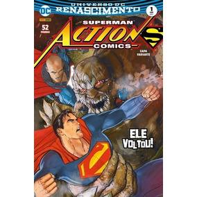 Action, Superman E Lanternas Renascimento
