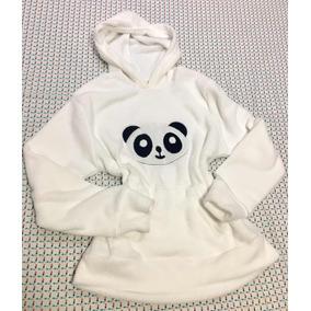 Blusa Pelinho Macio Panda - Camisetas e Blusas Manga Longa no ... e3ac4620bc1