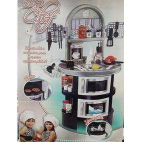Cocina Infantil Para Niños 100% Chef