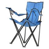 Cadeira Dobrável Em Poliéster Para Praia E Pesca Portátil