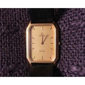 Reloj Omega De Ville Cuarzo 80s Dorado Para Hombre
