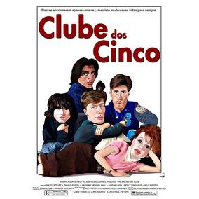 Cartaz Poster Decoração Clube Dos Cinco Filme 33x48cm