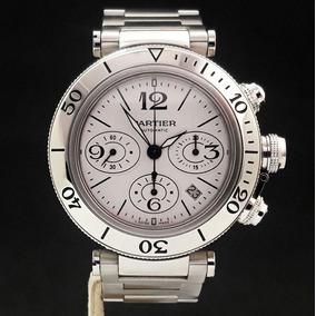 bf7058145fb Relogio Cartier Pasha Seatimer W31080m7 Maniaderelogio - Relógios no ...