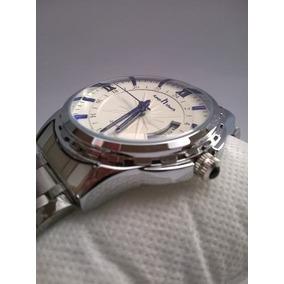 Relógio Keep Touch Aço Inox Blue Label Original Frete Grátis