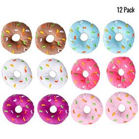 Felpa Donuts Con Sprinkles Conjunto De 12 Colores Surtidos F