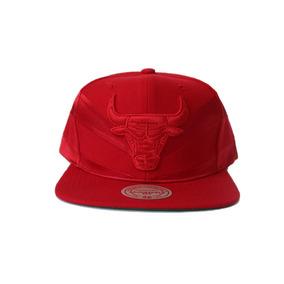 Gorra Mitchell & Ness, Chicago Bulls Red, Snapback