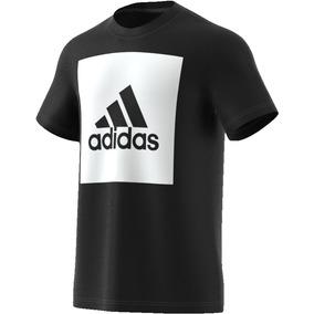 09f697b54e391 Camiseta Logo Adidas - Camisetas Manga Curta no Mercado Livre Brasil