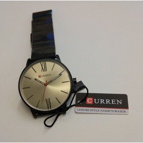 Relógio Curren Black Gray Black Pronta Entrega