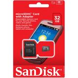 Cartão Memoria Micro Sd 32gb Box Classe 4 Blister Scandisk