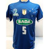 Camisa Futebol Americano Sada Cruzeiro - Futebol no Mercado Livre Brasil 7ed9fe245bca2